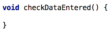 checkDataEntered