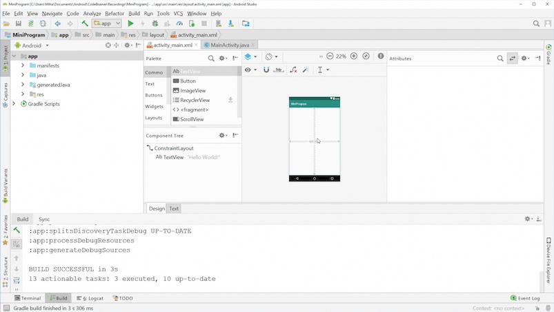 Project XML file