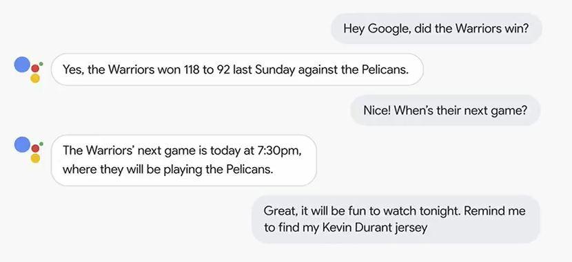 Google conversation