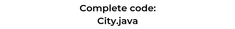 Complete recyclerView code - City - Java - CodeBrainer