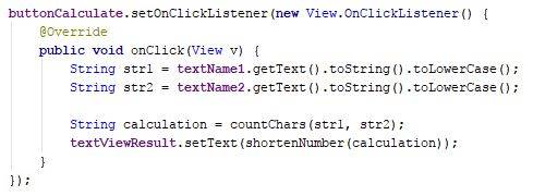 Simple android shorten number code - Java - CodeBrainer