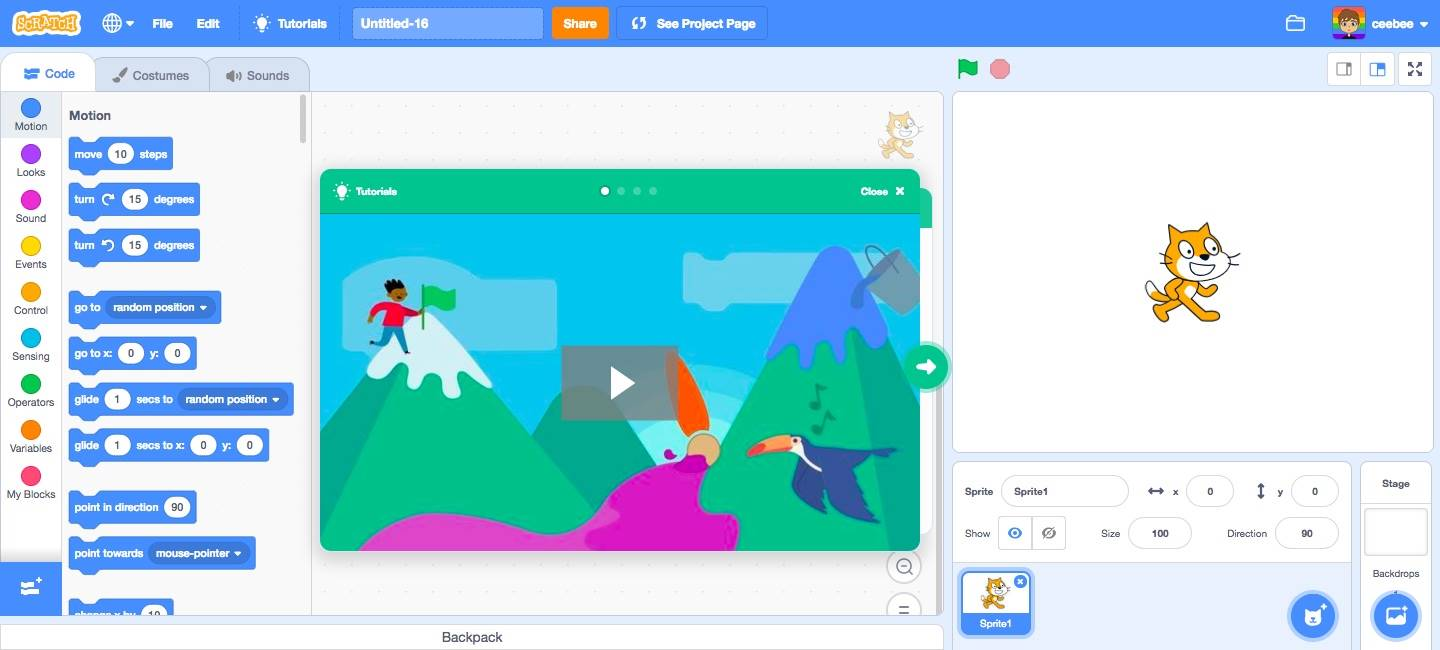 Learn with Scratch