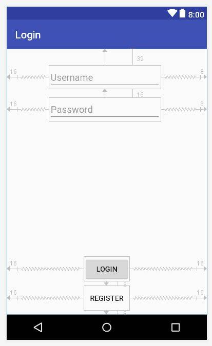Login activity in android