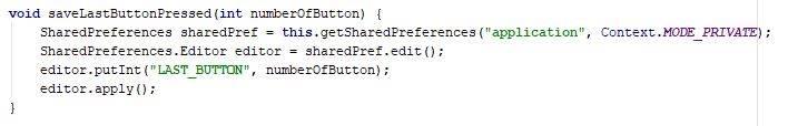 Sharedpreferences - save data method - Java - CodeBrainer
