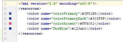XML color code - XML - CodeBrainer